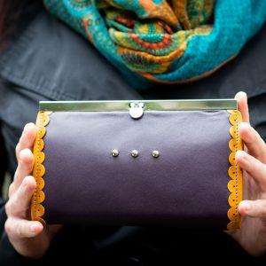 Design pénztárca keretes záródással 70f2f49e51